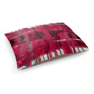 Decorative Dog Pet Beds | Julia Di Sano - Balancing Act Hot Pink | Abstract