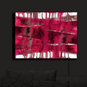 Nightlight Sconce Canvas Light | Julia Di Sano - Balancing Act Hot Pink
