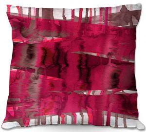 Throw Pillows Decorative Artistic   Julia Di Sano - Balancing Act Hot Pink   Abstract