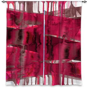 Decorative Window Treatments | Julia Di Sano - Balancing Act Hot Pink | Abstract