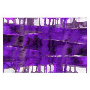 Decorative Floor Coverings | Julia Di Sano - Balancing Act Purple | Abstract