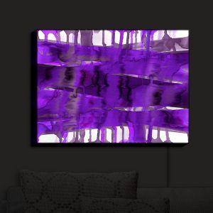 Nightlight Sconce Canvas Light | Julia Di Sano - Balancing Act Purple