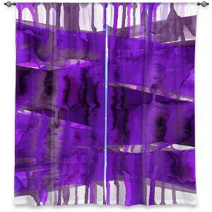 Decorative Window Treatments   Julia Di Sano - Balancing Act Purple   Abstract