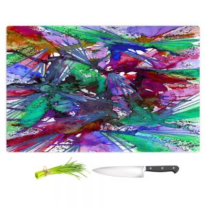 Artistic Kitchen Bar Cutting Boards | Julia Di Sano - Birds Of Prey Rainbow B
