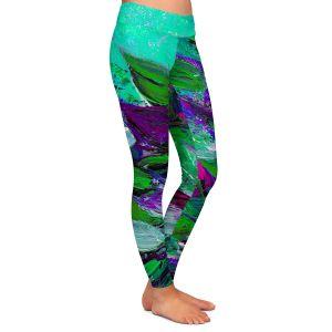 Casual Comfortable Leggings | Julia Di Sano Blooming Beautiful I