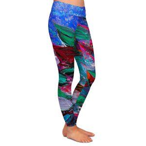 Casual Comfortable Leggings | Julia Di Sano Blooming Beautiful III