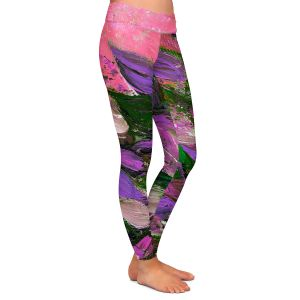 Casual Comfortable Leggings | Julia Di Sano - Blooming Beautiful IV
