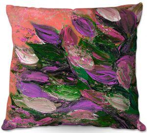 Decorative Outdoor Patio Pillow Cushion | Julia Di Sano - Blooming Beautiful VI