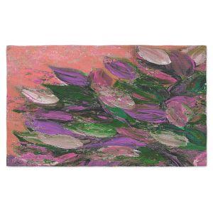 Artistic Pashmina Scarf | Julia Di Sano - Blooming Beautiful VI | Abstract