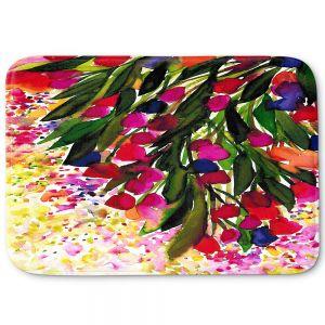 Decorative Bathroom Mats | Julia Di Sano - Botanical Regency I Rainbow