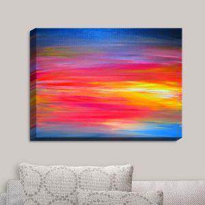 Decorative Canvas Wall Art   Julia Di Sano - Bright Horizons