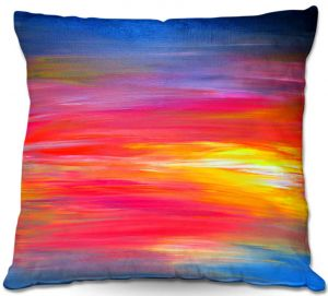 Throw Pillows Decorative Artistic | Julia Di Sano Bright Horizons