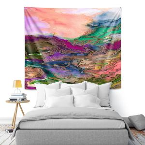 Artistic Wall Tapestry | Julia Di Sano - Bring On Bohemia I Peach