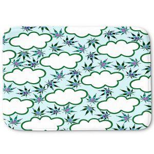 Decorative Bathroom Mats | Julia Di Sano - Cannabis Clouds 4 | Marijuana Pot Smoking