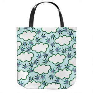 Unique Shoulder Bag Tote Bags   Julia Di Sano - Cannabis Clouds 4   Marijuana Pot Smoking