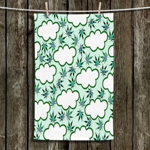 Unique Bathroom Towels | Julia Di Sano - Cannabis Clouds 5 | Marijuana Pot Smoking
