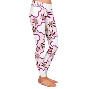 Casual Comfortable Leggings | Julia Di Sano - Cannabis Clouds 6 | Marijuana Pot Smoking