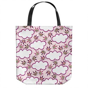 Unique Shoulder Bag Tote Bags   Julia Di Sano - Cannabis Clouds 6   Marijuana Pot Smoking