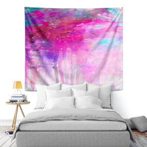 Artistic Wall Tapestry | Julia Di Sano - Carnival Dreams Pink Purple