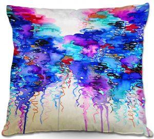 Decorative Outdoor Patio Pillow Cushion | Julia Di Sano - Cloudy Day I