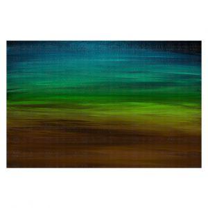 Decorative Floor Covering Mats | Julia Di Sano - Coastal Sunset 1 | abstract landscape