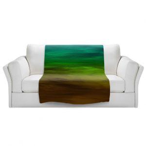 Artistic Sherpa Pile Blankets   Julia Di Sano - Coastal Sunset 1   abstract landscape