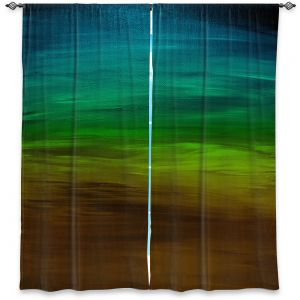 Decorative Window Treatments | Julia Di Sano - Coastal Sunset 1 | abstract landscape