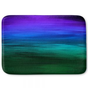 Decorative Bathroom Mats | Julia Di Sano - Coastal Sunset 2 | abstract landscape
