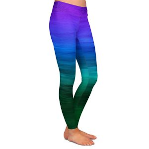 Casual Comfortable Leggings | Julia Di Sano - Coastal Sunset 2 | abstract landscape