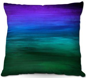 Throw Pillows Decorative Artistic | Julia Di Sano - Coastal Sunset 2 | abstract landscape