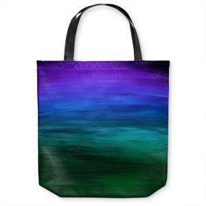 Unique Shoulder Bag Tote Bags | Julia Di Sano - Coastal Sunset 2 | abstract landscape