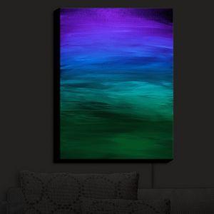Nightlight Sconce Canvas Light | Julia Di Sano - Coastal Sunset 2