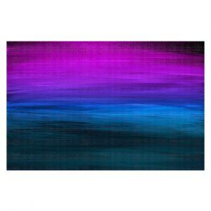 Decorative Floor Covering Mats | Julia Di Sano - Coastal Sunset 3 | abstract landscape