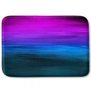 Decorative Bathroom Mats | Julia Di Sano - Coastal Sunset 3 | abstract landscape