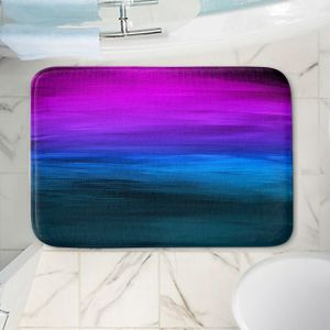 Decorative Bathroom Mats   Julia Di Sano - Coastal Sunset 3   abstract landscape