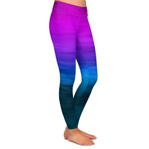 Casual Comfortable Leggings | Julia Di Sano - Coastal Sunset 3 | abstract landscape