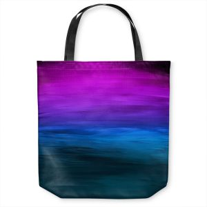 Unique Shoulder Bag Tote Bags | Julia Di Sano - Coastal Sunset 3 | abstract landscape