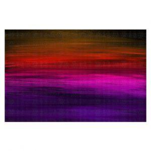 Decorative Floor Covering Mats | Julia Di Sano - Coastal Sunset 4 | abstract landscape