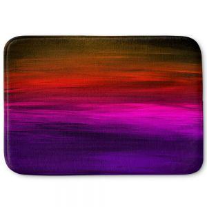 Decorative Bathroom Mats | Julia Di Sano - Coastal Sunset 4 | abstract landscape