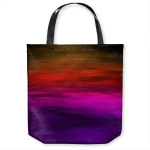 Unique Shoulder Bag Tote Bags | Julia Di Sano - Coastal Sunset 4 | abstract landscape