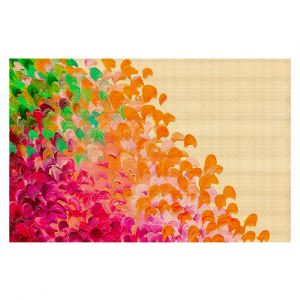 Decorative Area Rug 4 x 6 ft from DiaNoche Designs by Julia Di Sano - Creation in Color Autumn Infusion