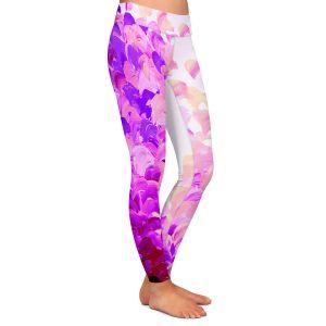 Casual Comfortable Leggings | Julia Di Sano Creation in Color Lavender