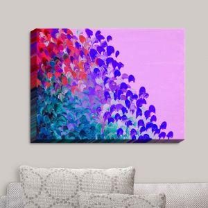 Decorative Canvas Wall Art | Julia Di Sano - Creation in Color Very Berry