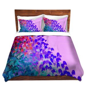 Artistic Duvet Covers and Shams Bedding | Julia Di Sano - Creation in Color Very Berry
