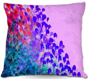 Throw Pillows Decorative Artistic | Julia Di Sano's Creation in Color Very Berry