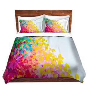 Artistic Duvet Covers and Shams Bedding | Julia Di Sano - Creation in Color I