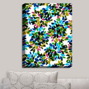 Decorative Canvas Wall Art | Julia Di Sano - Dahlia Dots I