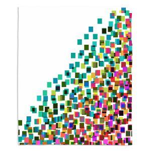 Artistic Sherpa Pile Blankets | Julia Di Sano - Digital Splash 1 | Abstract Pattern