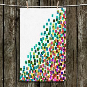 Unique Hanging Tea Towels | Julia Di Sano - Digital Splash 1 | Abstract Pattern