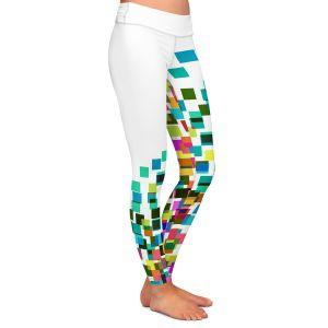 Casual Comfortable Leggings | Julia Di Sano - Digital Splash 1 | Abstract Pattern